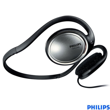 Fone de Ouvido Neckband - Philips - SHS390_00, Não se aplica, Headphone, 06 meses