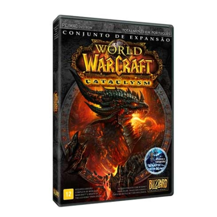 Jogo World of Warcraft - Conjunto de expansão Cataclysm - Positivo - CATACLYSM