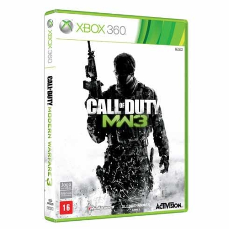 Jogo Modern Warfare 3 para XBOX  - XBCALLOFDU, GM