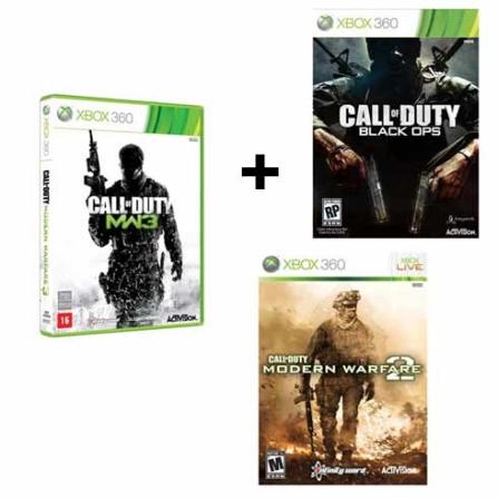 Modern Warfare 3 + Black Ops + Modern Warfare 2, GM