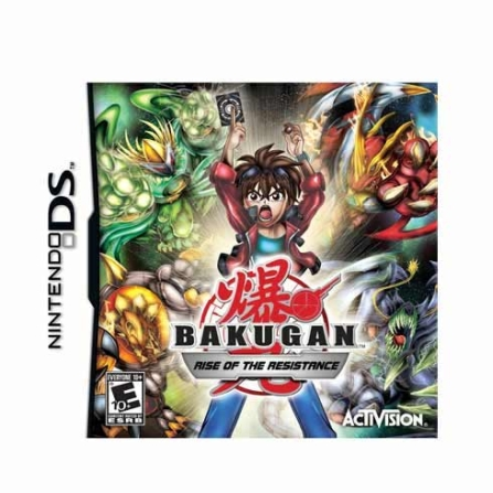 Game Card Bakungan's : Rise of the Resistance para Nintendo DS - DSCARDRESIST