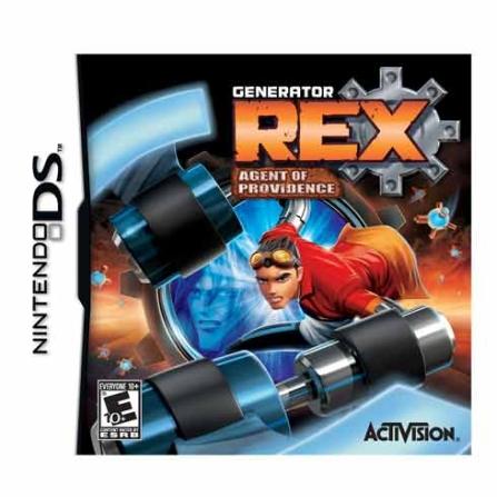 Jogo Generator Rex para Nintendo DS - DSGENERATOR