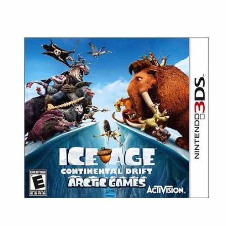 Jogo Ice Age: Continental Drift Arctic para Nintendo 3DS - DSICEAGE