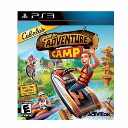 Jogo Cabela's Adventure Camp para PS3