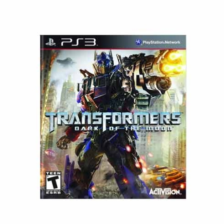 Jogo Transformers Dark of the Moon para PS3 - PS3DMOON