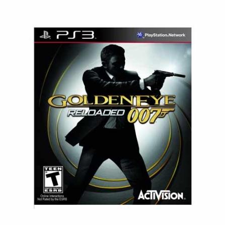 Jogo James Bond Golden Eye 007 Reloaded para PS3