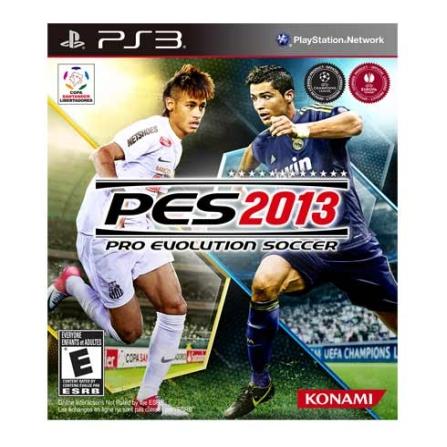 Jogo Pro Evolution Soccer 2013 para PS3