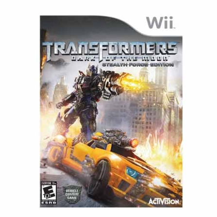 Jogo Transformes Dark of the Moon para Nintendo Wii - WIIDARKMOON