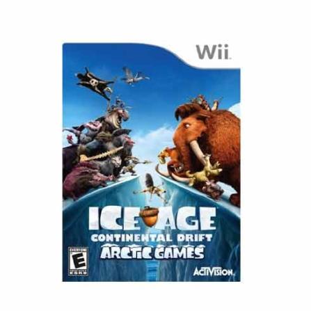 Jogo Ice Age : Continental Drift Arctic para Nintendo Wii - WIIICEAGEAR
