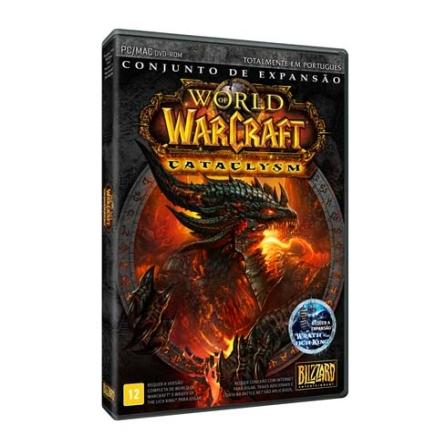 Jogo World of Warcraft - Conjunto de expansão Cataclysm para PC - WOWCATACLYSM