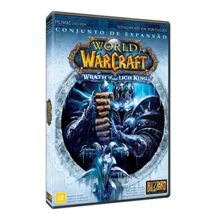 Jogo World of Warcraft - Conjunto de expansão Wrath of the lich king para PC - WOWLICHKING