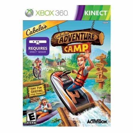 DVD Cabela's Adventure Camp para XBOX  360 - XBDVDCABELAS
