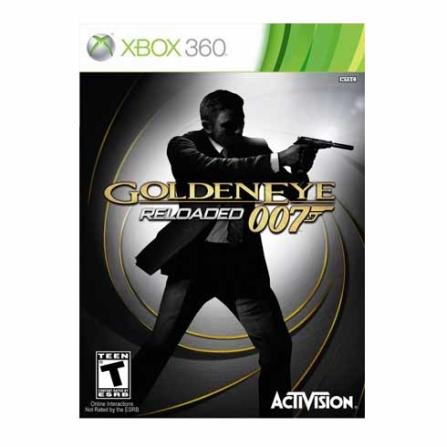DVD James Bond Golden Eye 007 Reloaded para XBOX360 - XBDVDGOLDEN