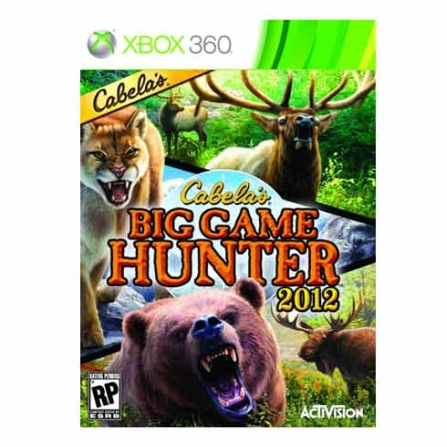 Jogo Cabela's Big Game Hunter 2012 para XBOX 360 - XBOXHUNTER12