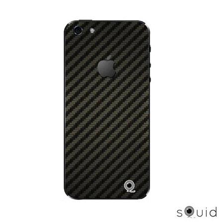 Adesivo para iPhone 5 Cabono Preto Squid