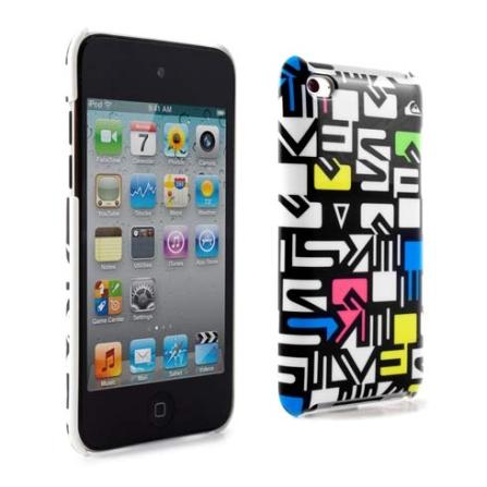 Capa Colorida para iPod Touch 4 Quiksilver