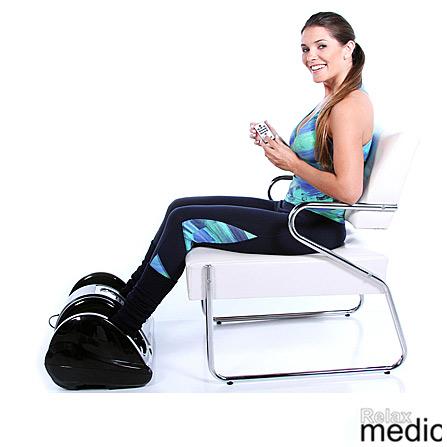 Massageador para os Pés Foot Massager Plus RM-FM01P Relaxmedic Massagem Shiatsu com 3 Níveis de Velocidade