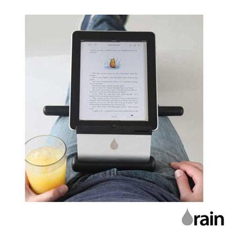Suporte para iPad iRest Preto e Prata Rain Design, Prata e Preto