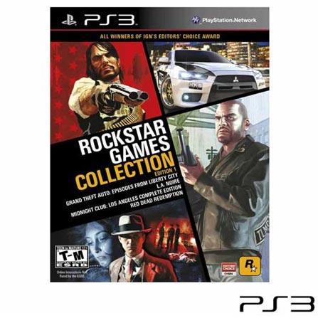 Jogo Rockstar Game Collection: Edition 1 para PS3