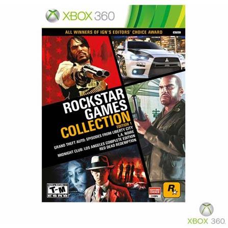 Jogo Rockstar Game Collection: Edition 1 para XBOX 360