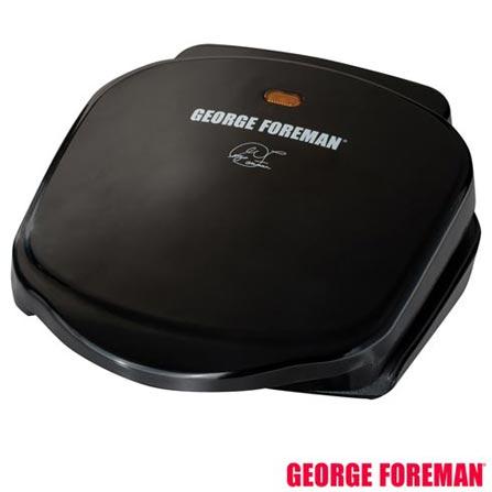 George Foreman Grill - Champ Black GBZ10B com Capacidade p/ 02 Hamburgueres Preto, 110V, 220V