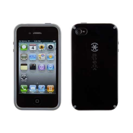 Capa Rígida Preto para iPhone 4 - Speck, 06 meses