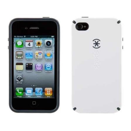 Capa Rígida Branco para iPhone 4 - Speck, Branco, 06 meses