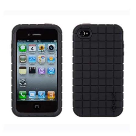 Capa Rígida Preto para iPhone 4 - Speck - IPH4PXLA02A, 06 meses