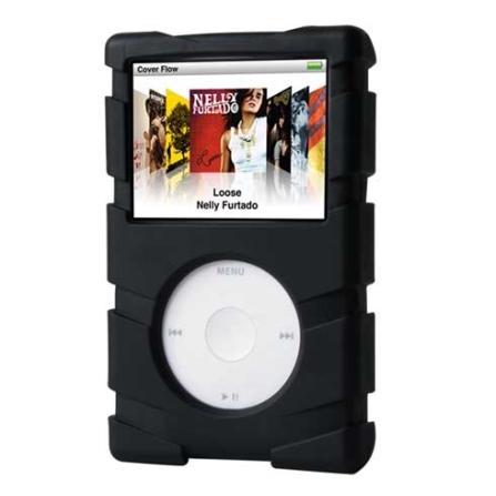 (ver Promoção) Capa Preta Emborrachada para iPod Classic - Speck - SKICBLKTS, 03 meses