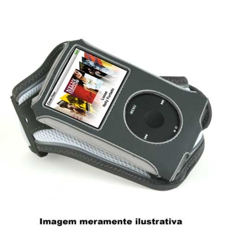 (ver Promoção) Capa Cinza para iPod Classic / Ideal para Atividade Física - Speck - SKICWHTFIT, Cinza, 03 meses