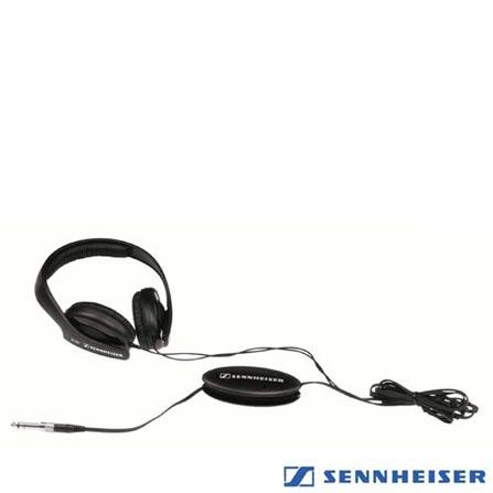 Fone de Ouvido PRO HD202II Sennheiser, Preto, Headphone, 24 meses