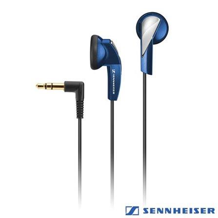 Fone de Ouvido Sennheiser Ear-bud Azul - MX365, Azul, Intra-auricular, 24 meses