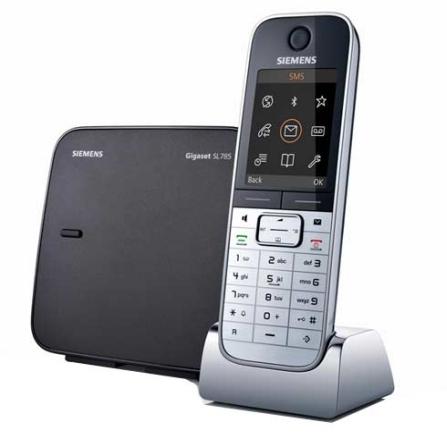 Telefone sem Fio com Bluetooth,USB Gigaset Siemens