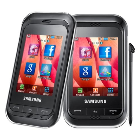 Celular Beat Mix c/ MP3 Player e Bluetooth Samsung