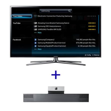 Smart TV LED Samsung D6900 com 40