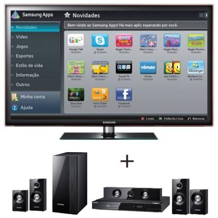 Smart TV LED Samsung D5500 46