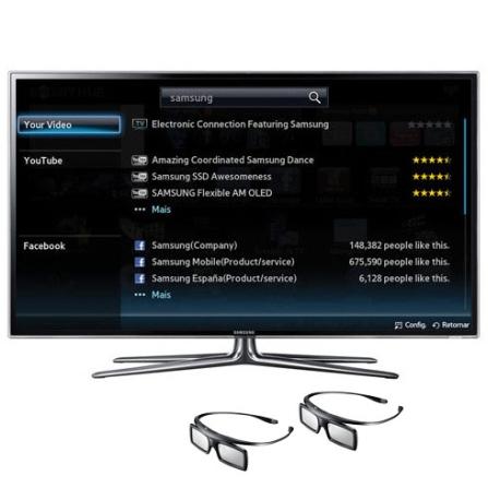 Smart TV LED Samsung D6900 com 46