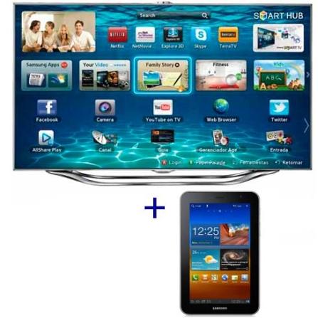Smart TV Slim LED Samsung UN46ES8000 com 46