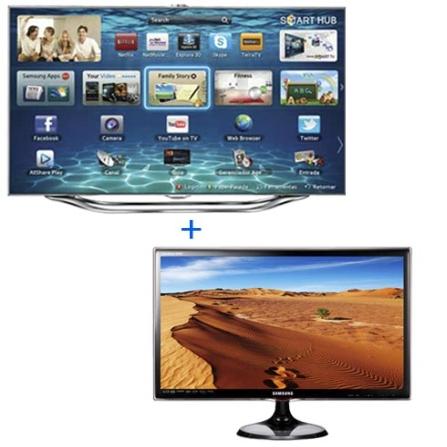 EXCLUSIVO:Smart TV Slim LED 46