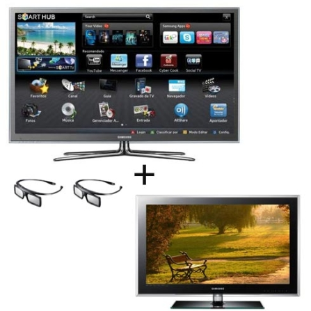 Smart TV Plasma Samsung D8000 com 51