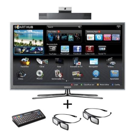 Smart TV Plasma Samsung D8000 com 51