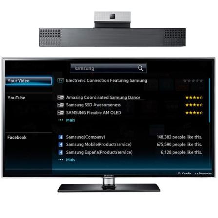 Smart TV LED Samsung D6900 com 55
