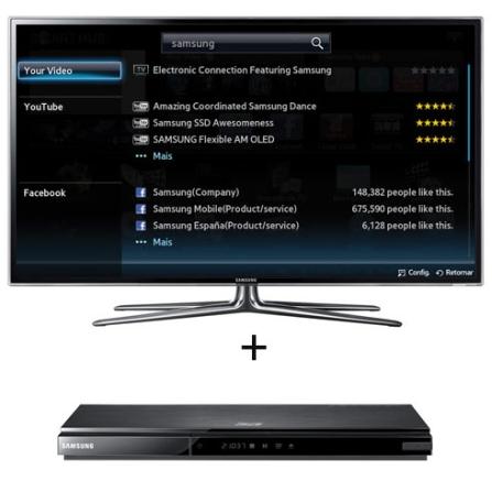 EXCLUSIVO!Smart TV LED Samsung D6900 55