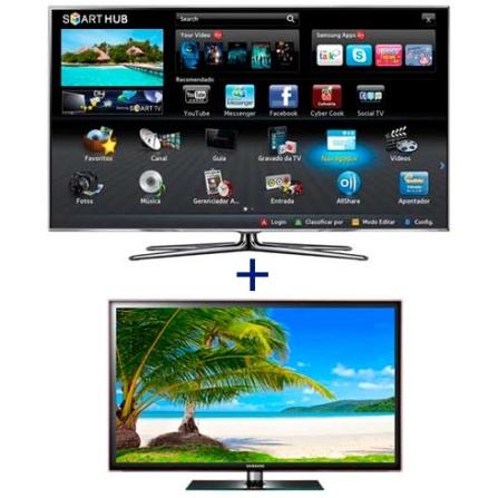 Smart TV LED Samsung D8000 55