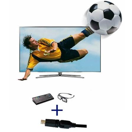 Smart TV LED Samsung D8000 60
