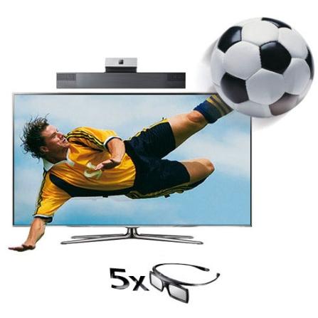 LED 60'' 3D +Câmera de Comunicação +Kit 3D Samsung, VD
