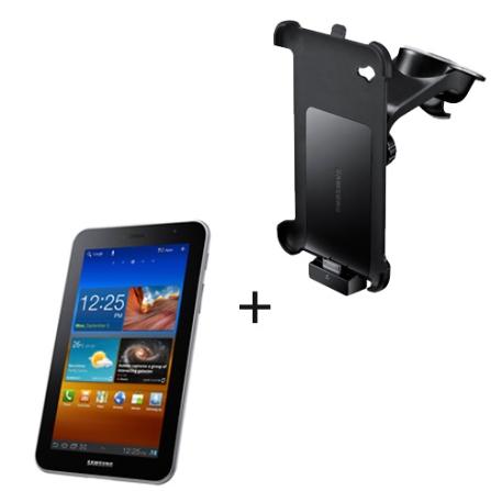 Tablet Samsung Galaxy Tab P6200 7.0 Plus com Função Telefone, Display 7