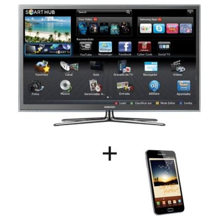 Smart TV Plasma Samsung D8000 com 64