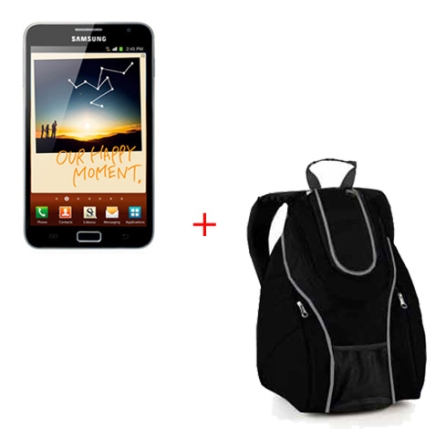Tablet Samsung Galaxy Note + Mochila para Notebook