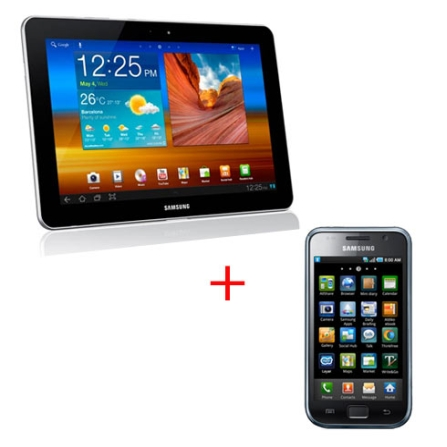 Tablet Samsung P7510 Galaxy Tab 10.1 com Processador 1Ghz Tegra 2 Dual Core, Display de 10.1